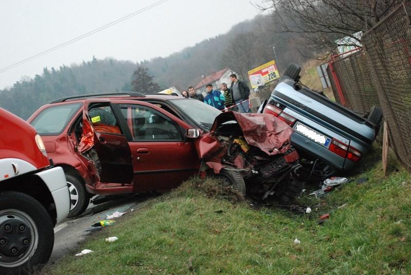 Tragiczny wypadek na ulicy Krakowskiej. Fot. Damian Palar / terazJaslo.pl