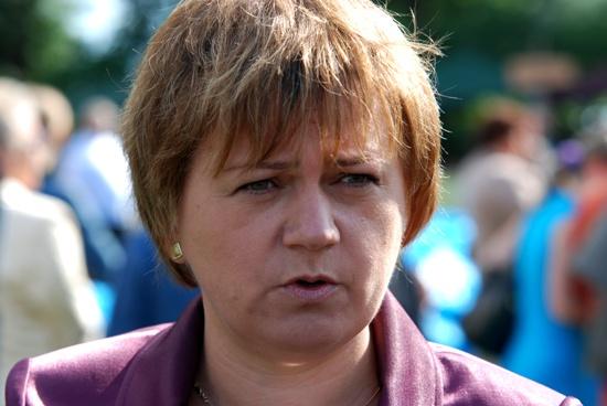 Małgorzata Salacha, burmistrz miasta i gminy Kołaczyce