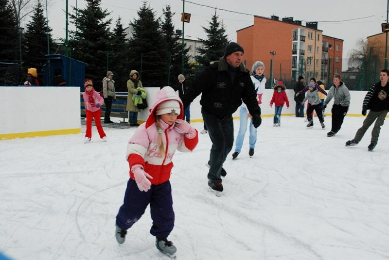 Nowe lodowisko już otwarte. Fot. terazJaslo.pl / Damian Palar
