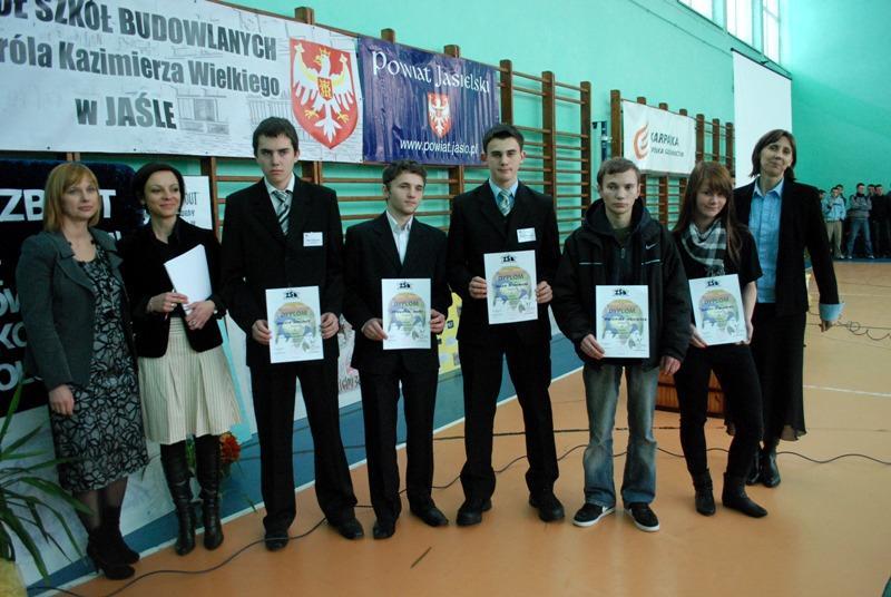 Laureaci konkursu. Fot. terazJaslo.pl / Daniel Baron