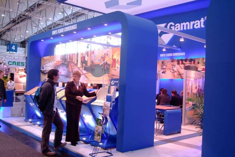 Pawilon wystawowy firmy Gamrat. Fot. archiwum