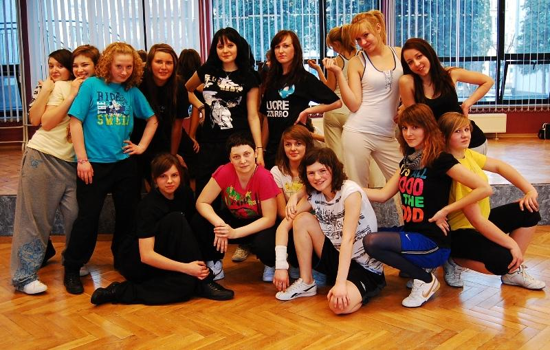 Warsztaty taneczne w JDK. Fot. Jasielski Dom Kultury