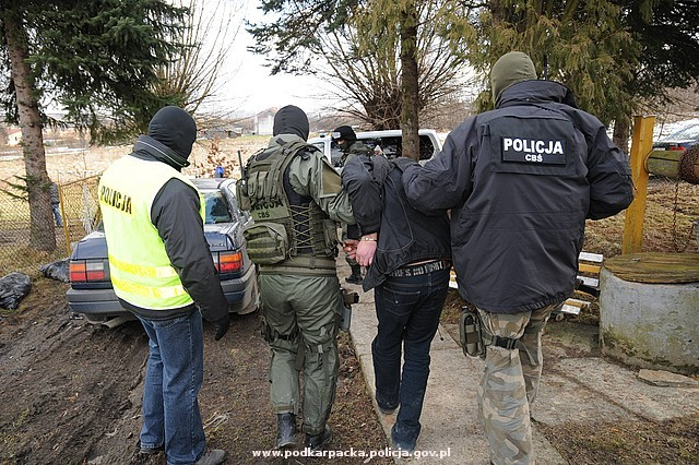 Zatrzymanie mężczyzny. Fot. POLICJA