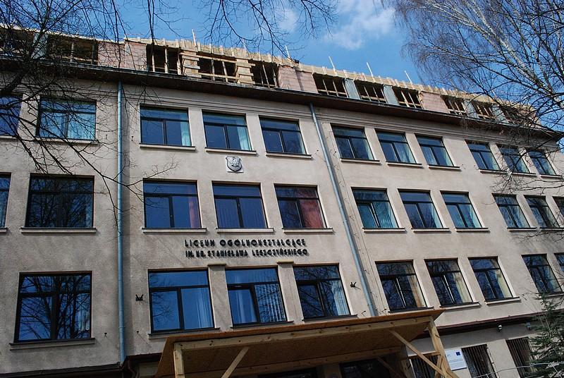 Budynek I LO. Fot. terazJaslo.pl / Damian Palar