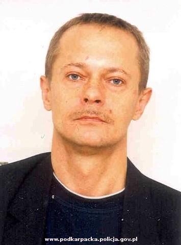 Zaginiony Jerzy Augustyn. Fot. archiwum KPP Jasło