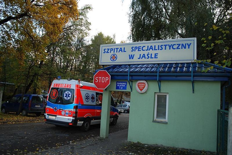 Szpital Specjalistyczny w Jaśle. Fot. terazJaslo.pl / Damian Palar