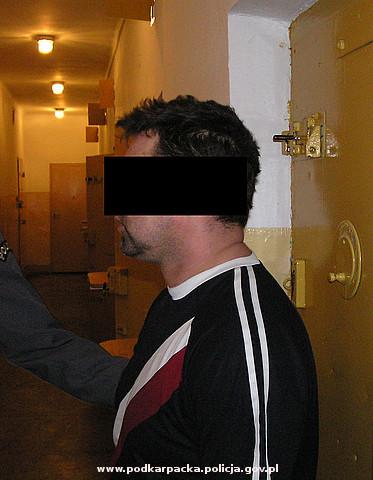 35-latkowi grozi dożywocie. Fot. archiwum KPP Jasło