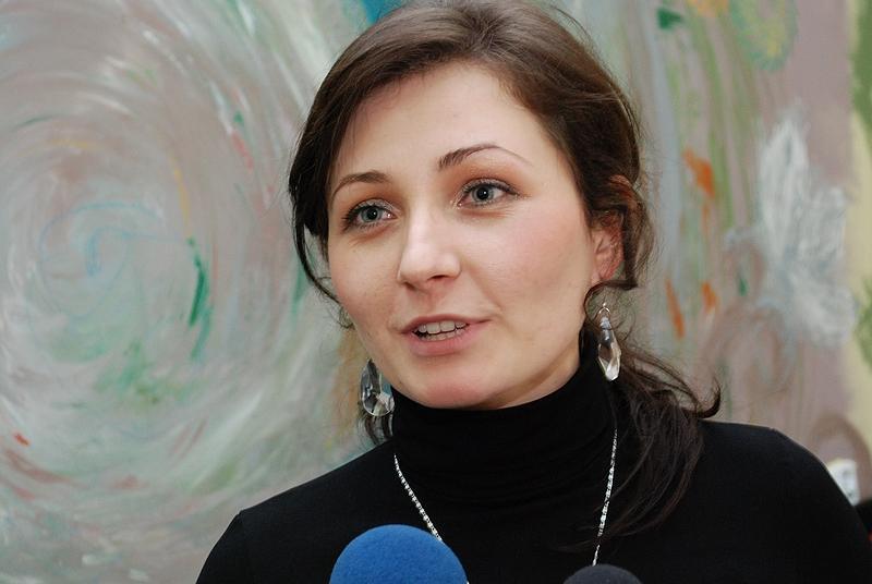 Magdalena Hymos. Fot. terazJaslo.pl / Daniel Baron