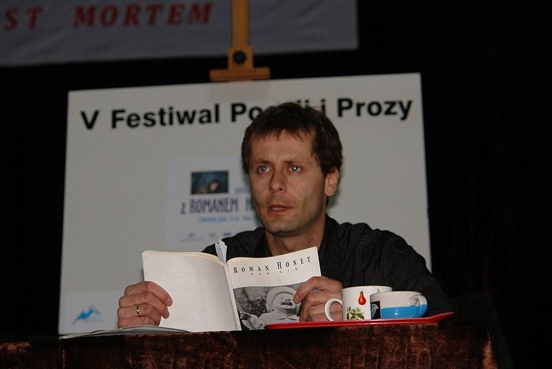 Roman Honet. Fot. MBP w Jaśle