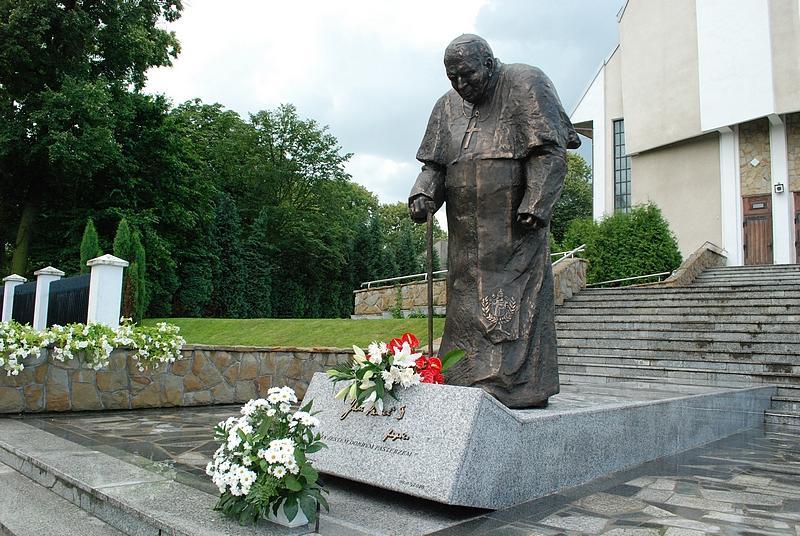 Pomnik Jana Pawła II. Fot. terazJaslo.pl / Damian Palar