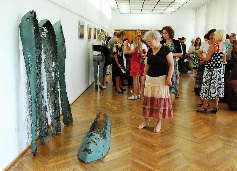 Wystawa rzeźb. Fot. Jasielski Dom Kultury