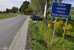 Droga powiatowa Toki - Krosno