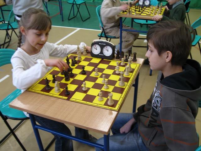 Turniej szachowy w Gimnazjum nr 1 / fot. Kazimierz Bobula