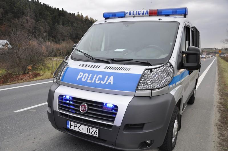 POLICJA. Fot. terazJaslo.pl / Damian Palar