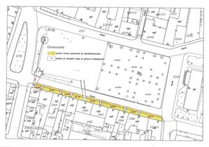 Mapa lokalizacji ogródków kawiarnianych