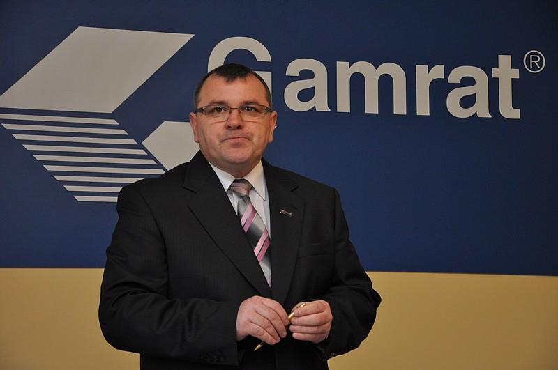 Andrzej Czajka, prezes Gamrat S.A. Fot. terazJaslo.pl / Damian Palar