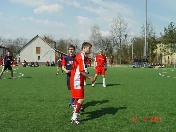 Zawody piłkarskie w Kołaczycach. Fot. archiwum Szkoły