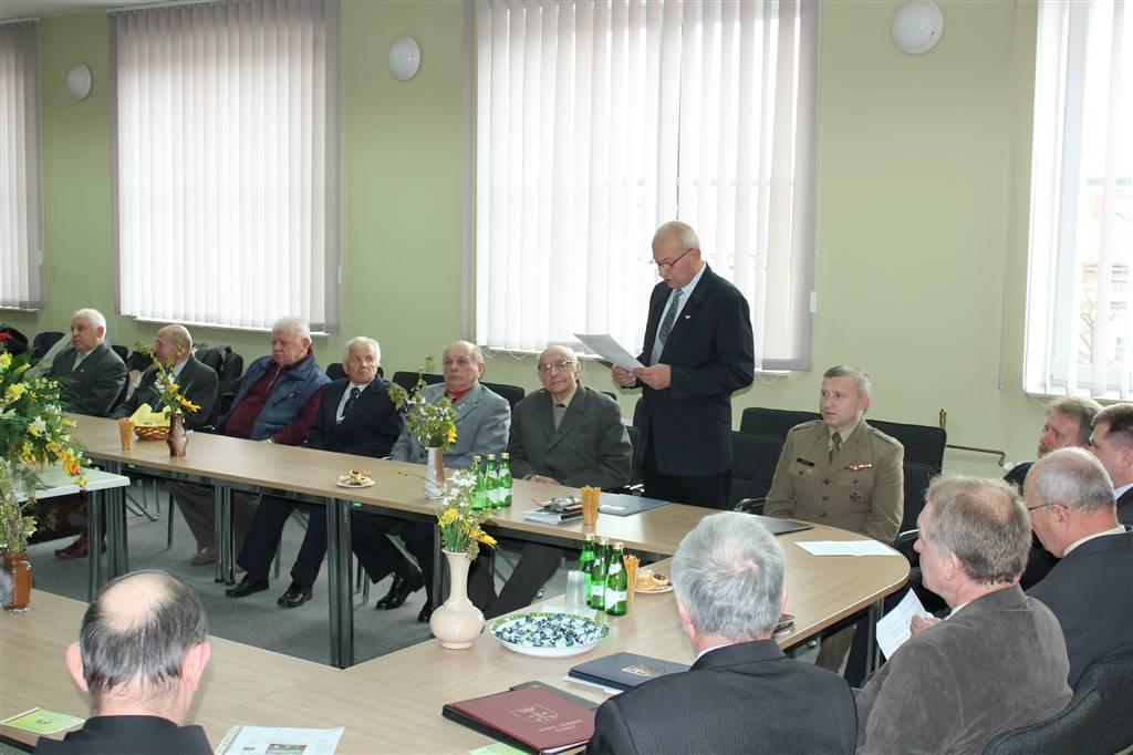 Jubileusz Związku Żołnierzy Wojska Polskiego. Fot. archiwum Starostwa