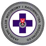Logo Jasielskiego Klubu Motorowego i Ratownictwa Drogowego