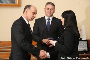 Wręczenie odznaki dla Zbigniewa Staniszewskiego