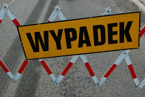 WYPADEK. Fot. terazJaslo.pl / Damian Palar