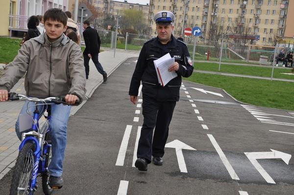 Miasteczko Ruchu Drogowego w Jaśle. Fot. archiwum terazJaslo.pl / Daniel Baron