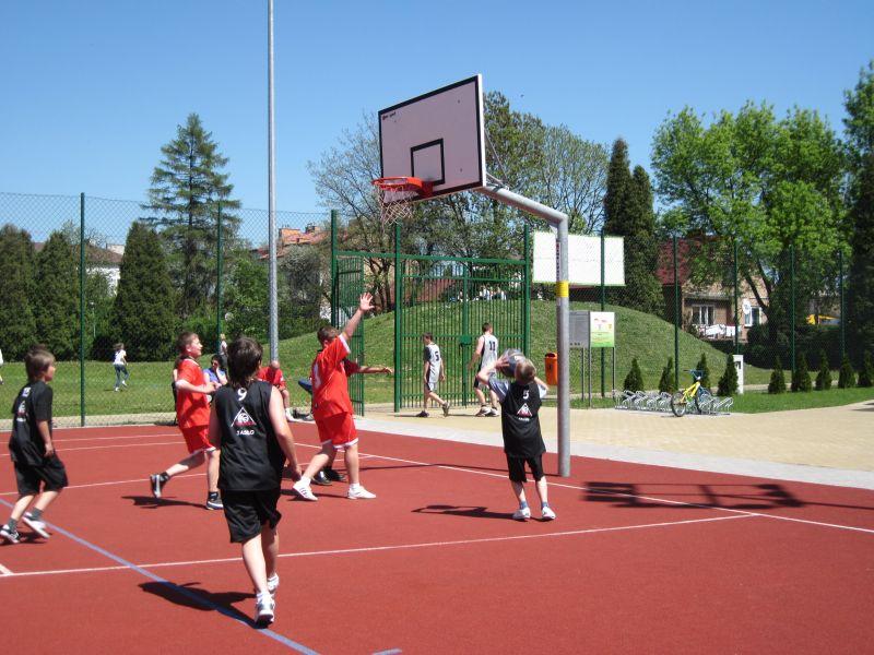 Turniej koszykówki. Fot. Urząd Miasta Jasła