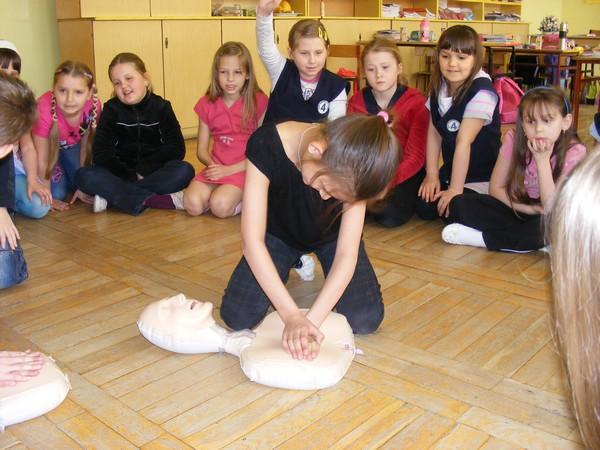 Szkolenie z pierwszej pomocy. Fot. Ewa Pietraszek