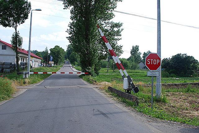 Przejazd kolejowy w Tarnowcu