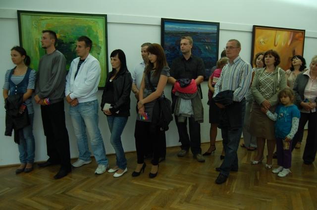 Wernisaż wystawy Wiesława Nadymusa