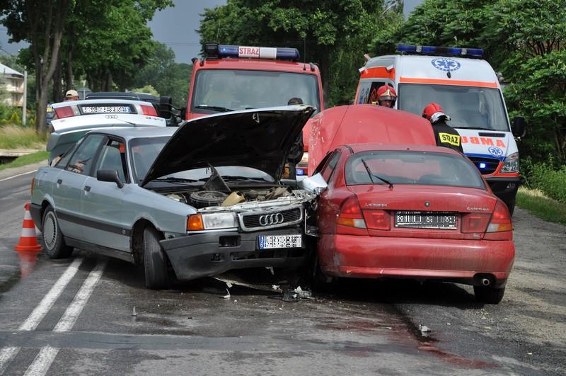 Wypadek w Przysiekach
