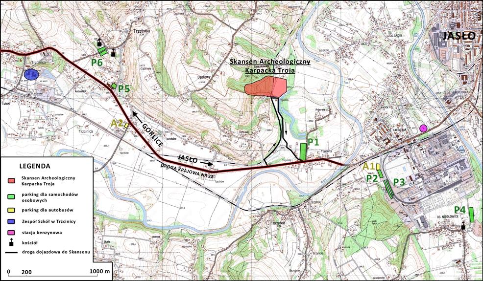 Mapa parkingów