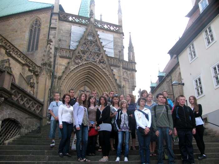 Licealiści z Kołaczyc z wizytą w Niemczech