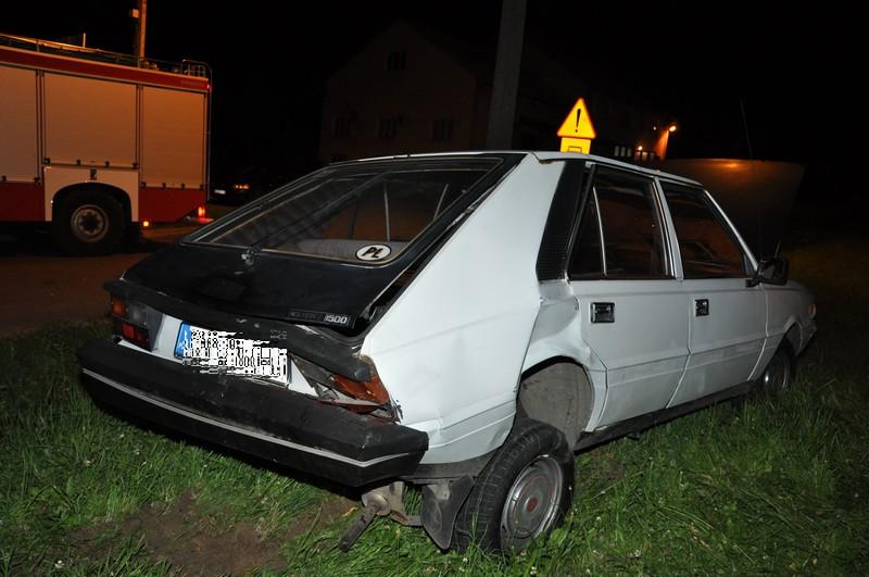 Wypadek w Zarzeczu