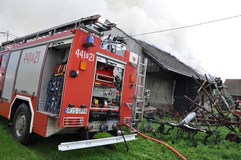 Pożar w Kaczorowach