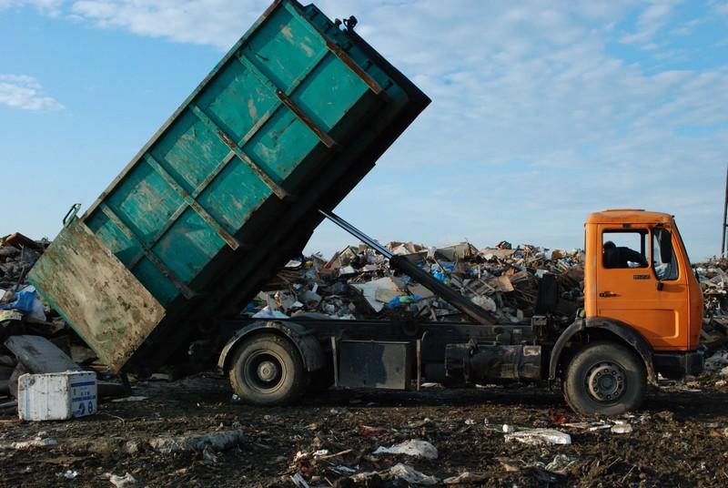 Wysypisko odpadów komunalnych w Jaśle