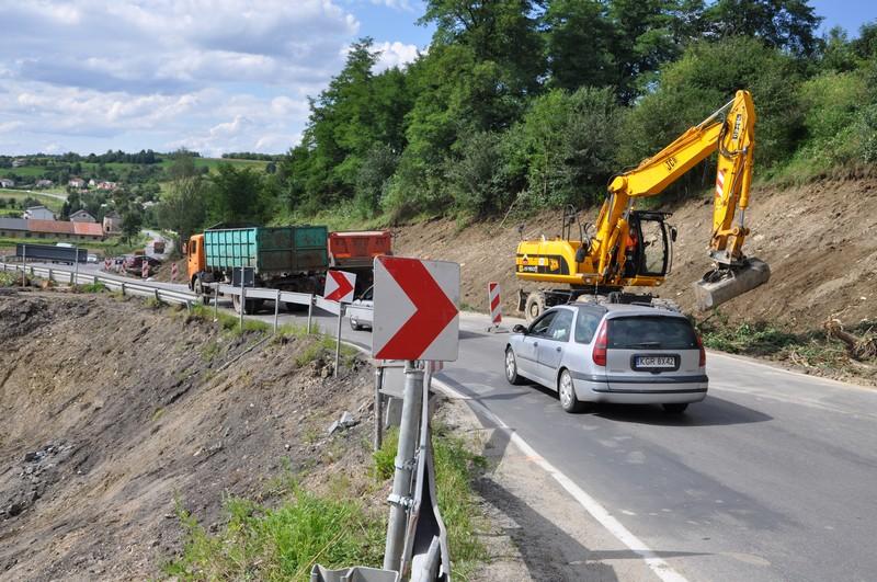 Przebudowa drogi krajowej nr 28 w Skołyszynie