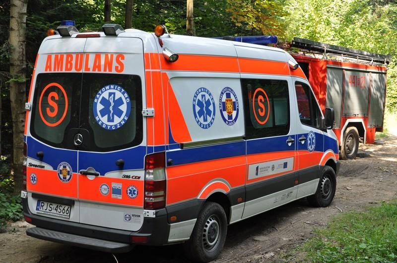 Wypadek w Mrukowej