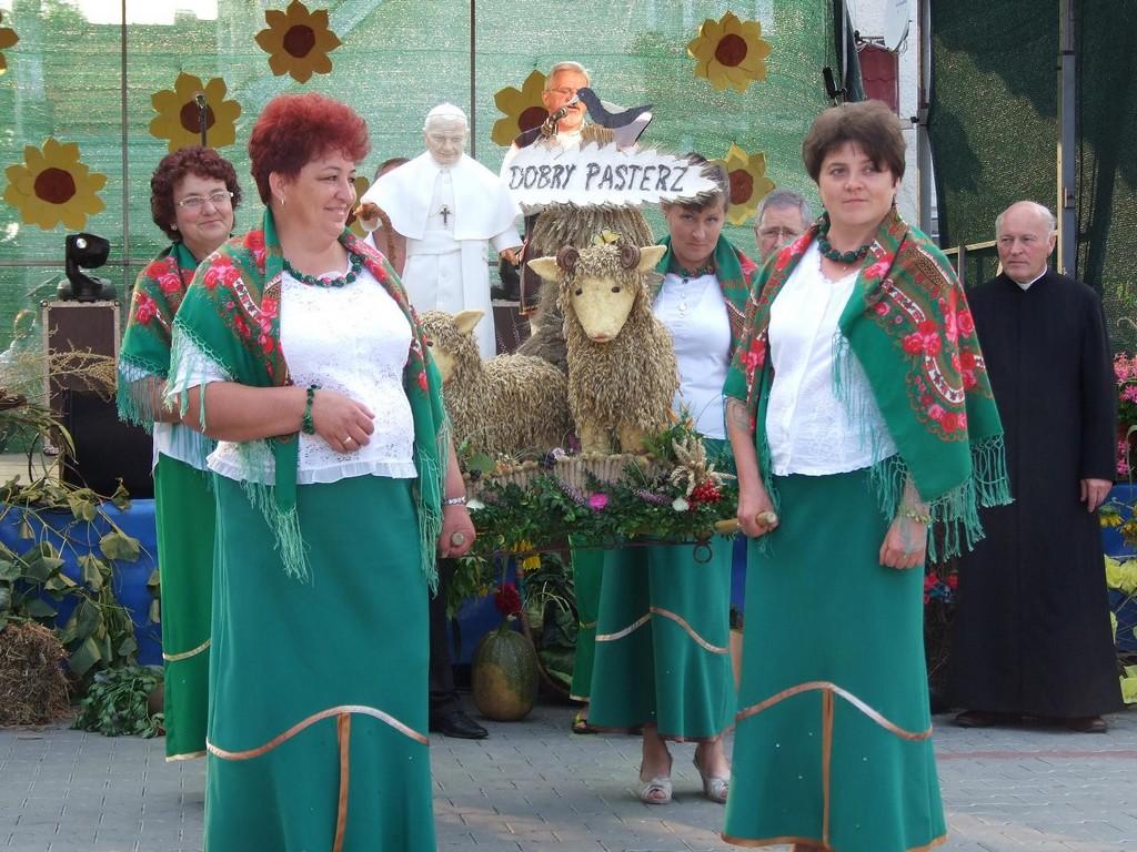 Dożynki gminne w Osobnicy