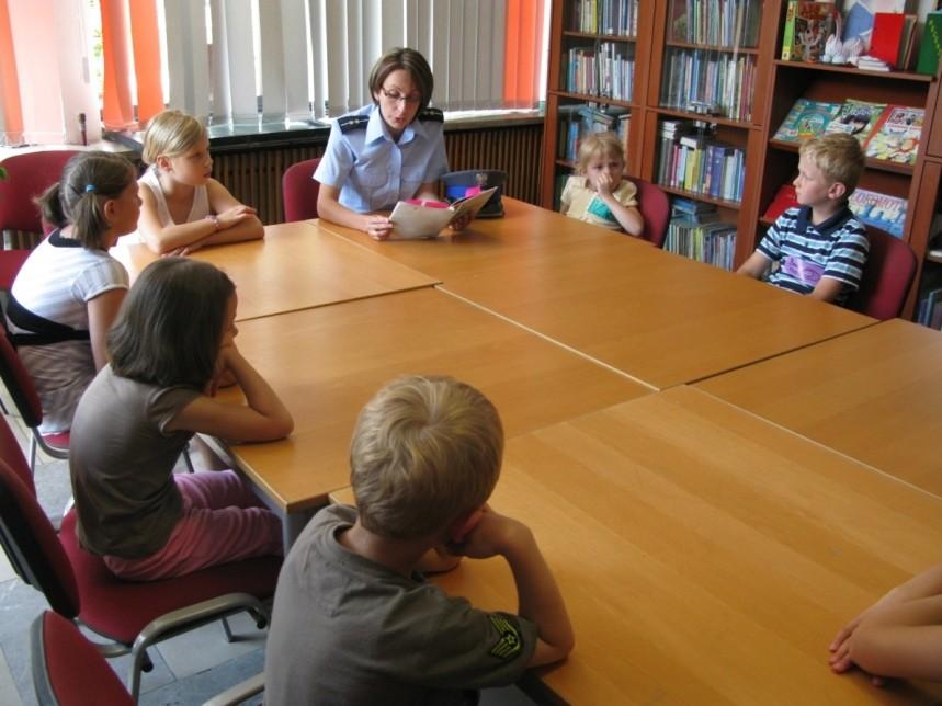 Wakacjobranie w jasielskiej bibliotece