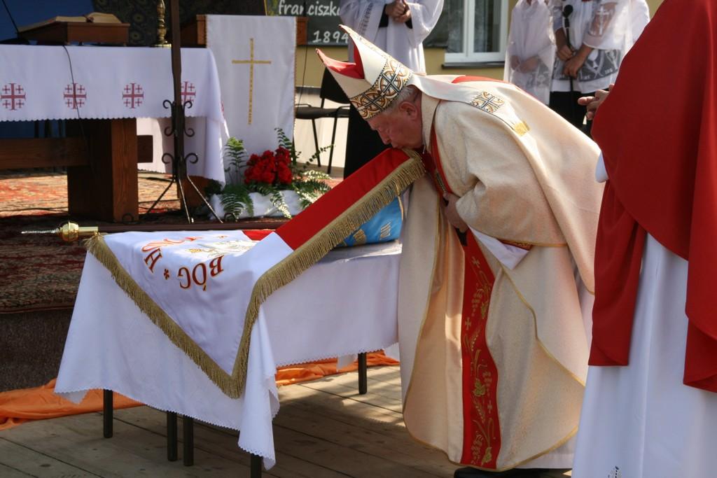 Uroczystość nadania imienia Zespołowi Szkół w Wróblowej