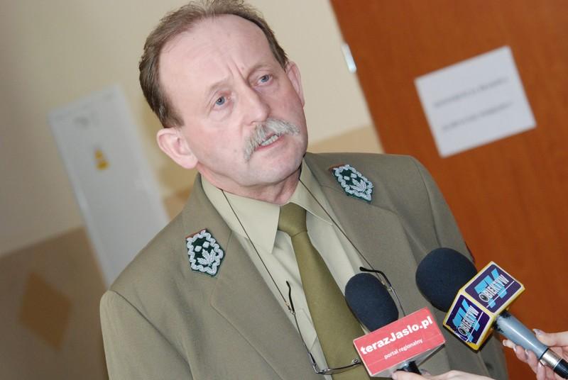 Andrzej Czaderna, dyrektor Magurskiego Parku Narodowego