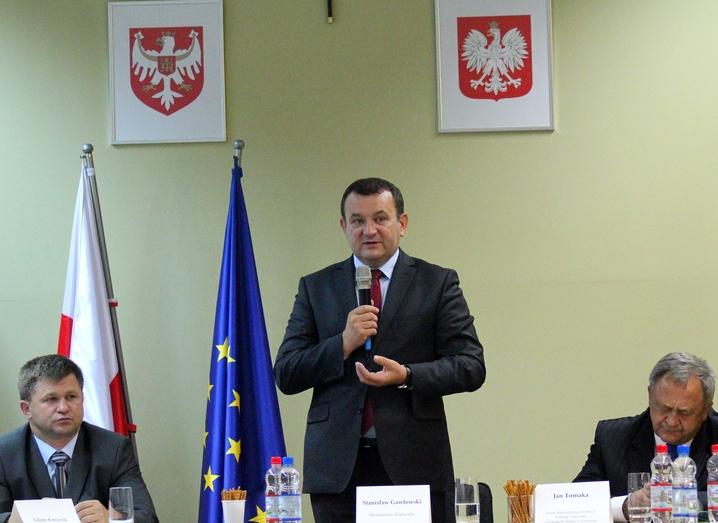 Spotkanie z wiceministrem Stanisławem Gawłowskim