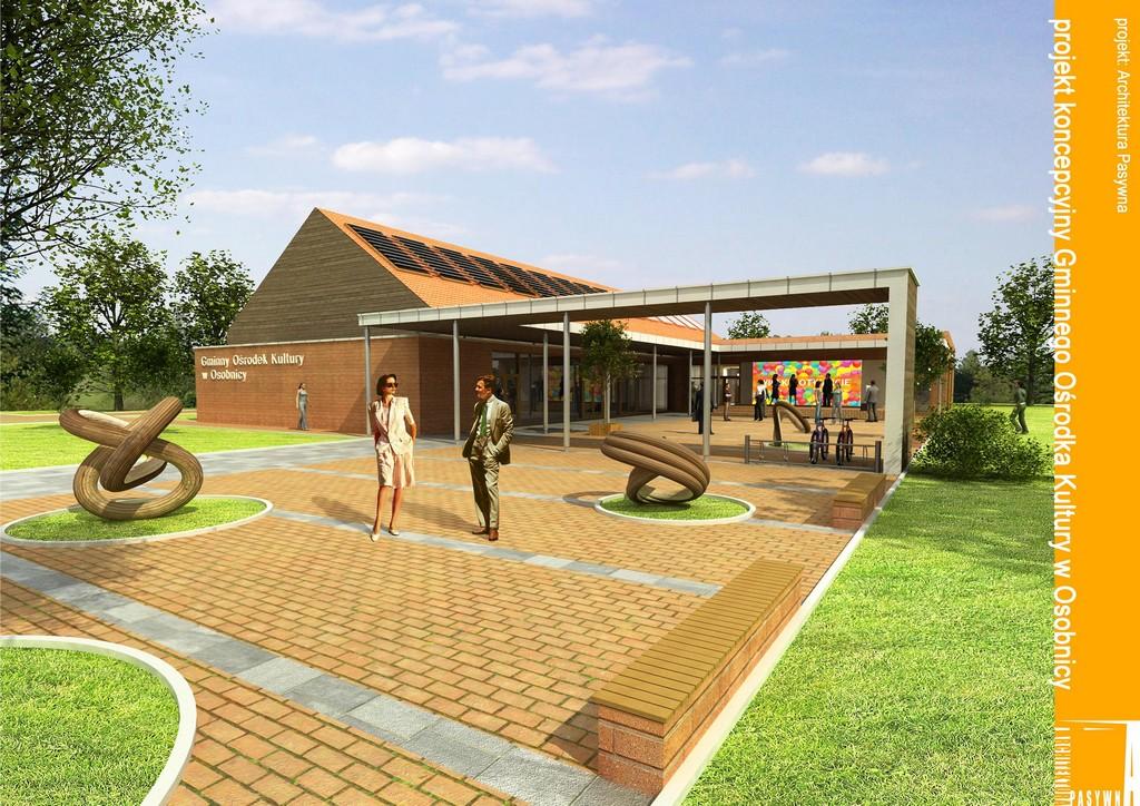 Projekt Gminnego Centrum Kultury w Osobnicy