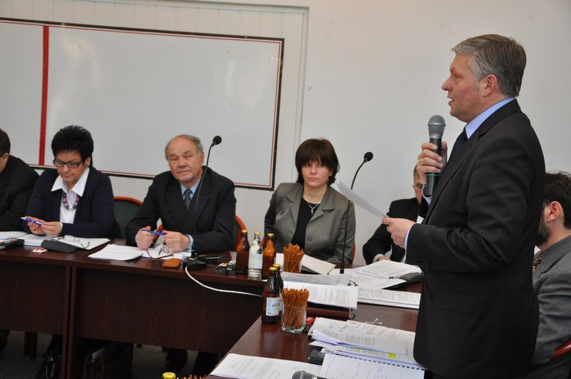 Sesja Rady Miejskiej Jasła VI kadencji