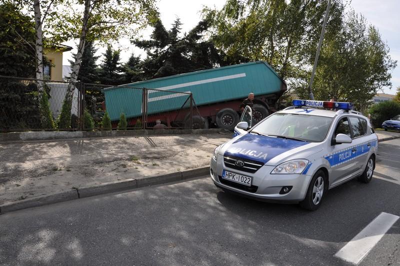 Kolizja na ulicy Lwowskiej