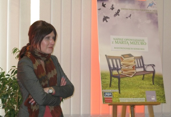 Finał konkursu Napisz opowiadanie z Martą Mizuro