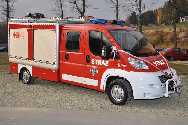 Lekki samochód ratowniczo-gaśniczy OSP Święcany