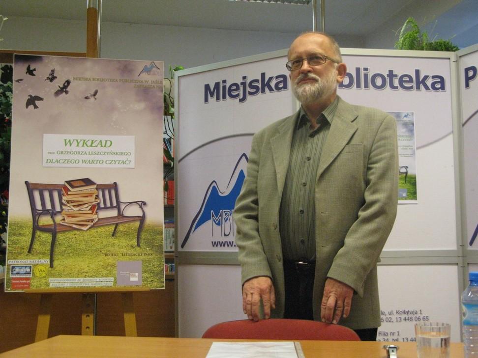 Prof. Grzegorz Leszczyński