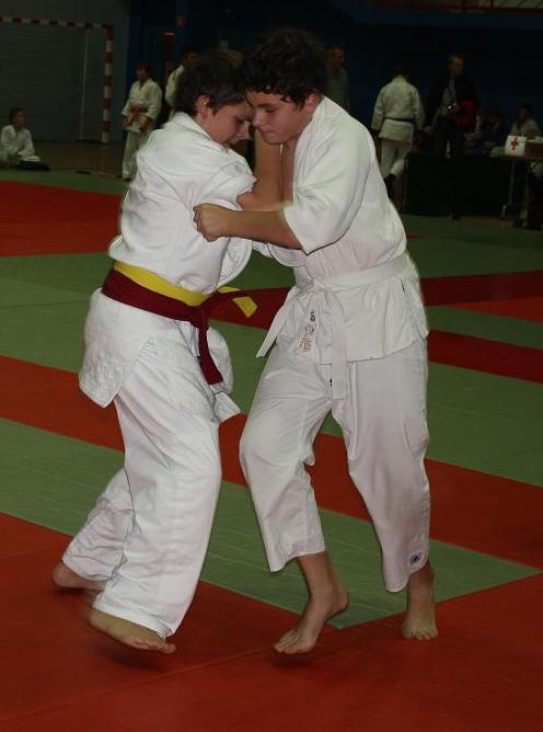 Turniej judo w Jedliczu